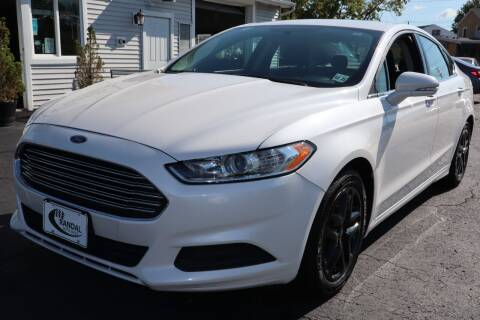 2016 Ford Fusion for sale at Randal Auto Sales in Eastampton NJ