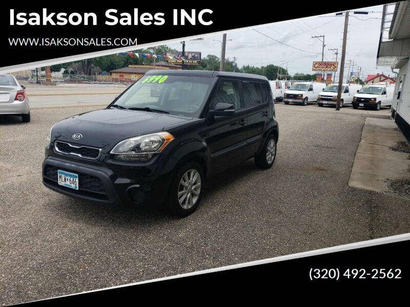 2012 Kia Soul for sale at Isakson Sales INC in Waite Park MN
