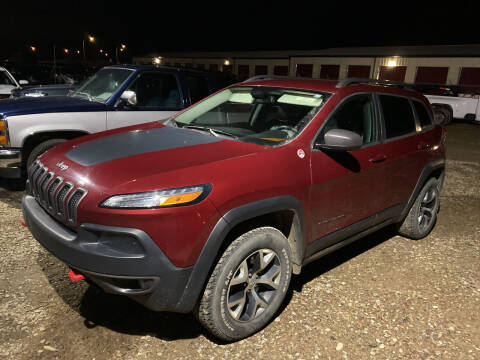 2014 Jeep Cherokee for sale at Truck Buyers in Magrath AB