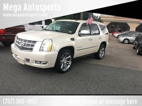 2012 Cadillac Escalade for sale at Mega Autosports in Chesapeake VA