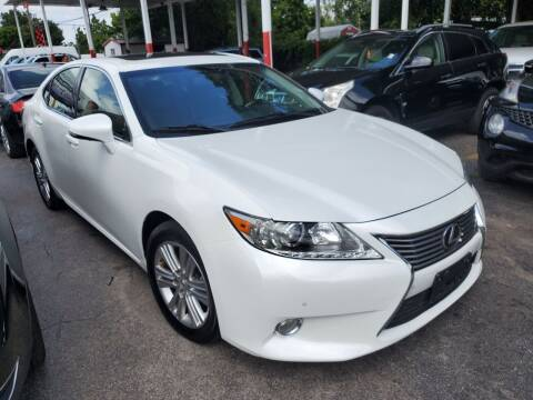 2013 Lexus ES 350 for sale at America Auto Wholesale Inc in Miami FL