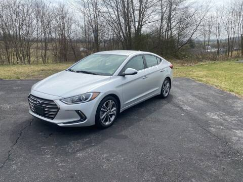2017 Hyundai Elantra for sale at East Main Rides in Marion VA