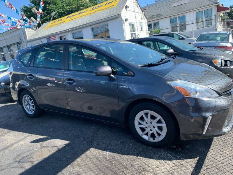 2012 Toyota Prius v for sale at Cypress Motors of Ridgewood in Ridgewood NY