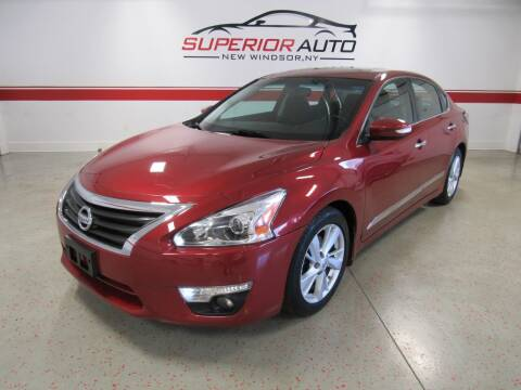 2015 Nissan Altima for sale at Superior Auto Sales in New Windsor NY
