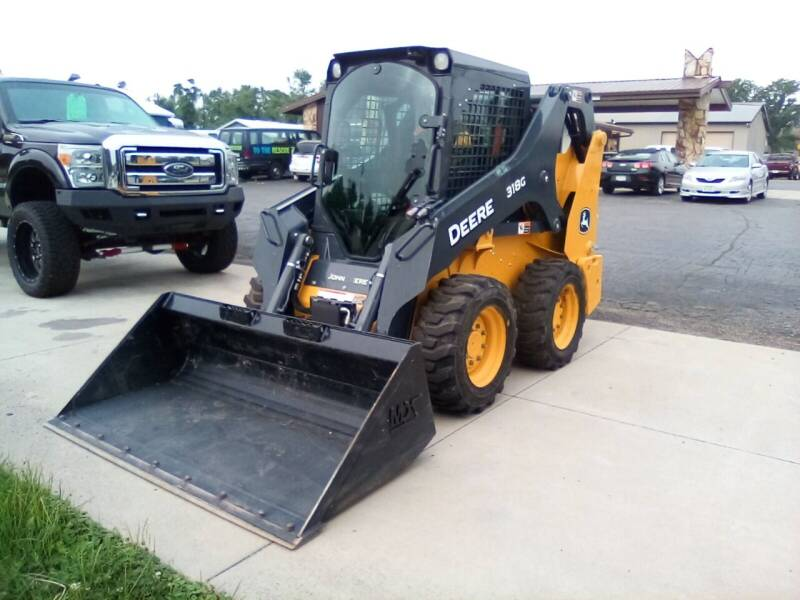 2020 John Deere 318G for sale at Four Guys Auto in Cedar Rapids IA