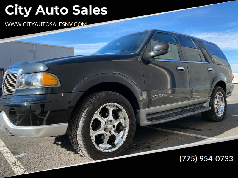 2000 Lincoln Navigator for sale at City Auto Sales in Sparks NV