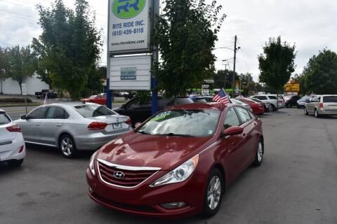 2013 Hyundai Sonata for sale at Rite Ride Inc in Murfreesboro TN