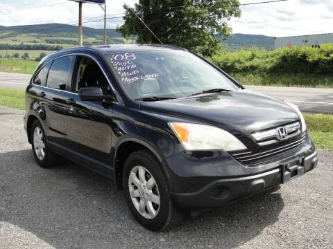2008 Honda CR-V for sale at Turnpike Auto Sales LLC in East Springfield NY