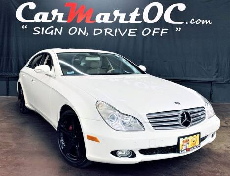 2006 Mercedes-Benz CLS for sale at CarMart OC in Costa Mesa, Orange County CA
