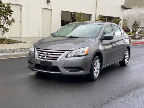 2015 Nissan Sentra for sale at Washington Auto Sales in Tacoma WA