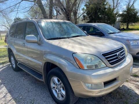 2003 Lexus GX 470 for sale at Car Solutions llc in Augusta KS