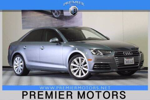 2017 Audi A4 for sale at Premier Motors in Hayward CA