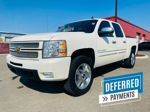 2012 Chevrolet Silverado 1500 for sale at Credit World Auto Sales in Fresno CA