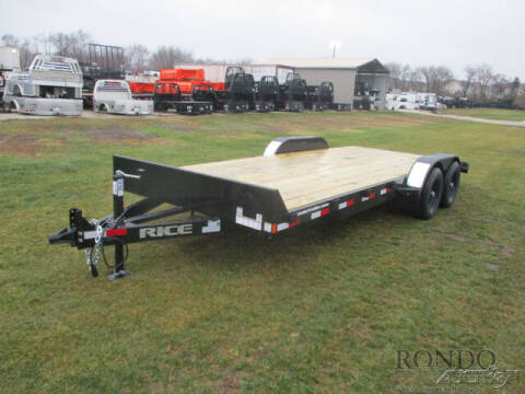 2021 Rice Trailers Equipment FMCMR8220