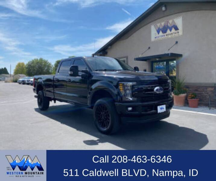 2019 Ford F-350 Super Duty for sale at Western Mountain Bus & Auto Sales in Nampa ID