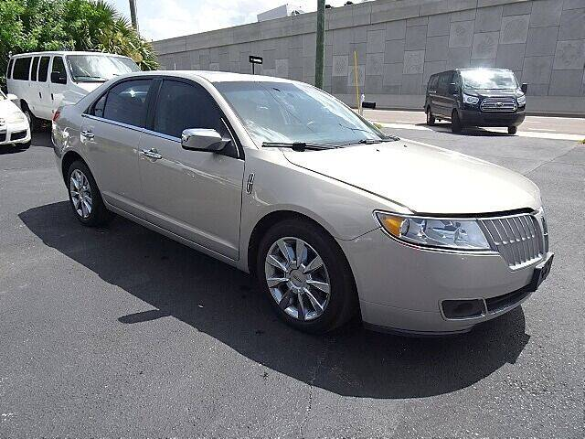 2010 Lincoln MKZ for sale at DONNY MILLS AUTO SALES in Largo FL