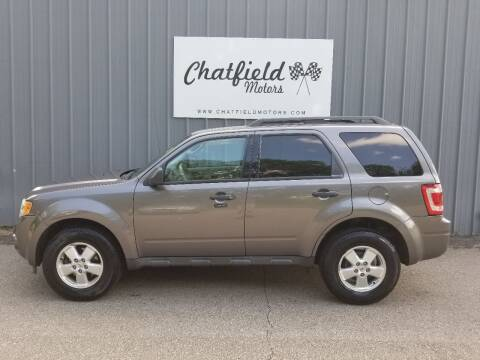 2010 Ford Escape for sale at Chatfield Motors in Chatfield MN