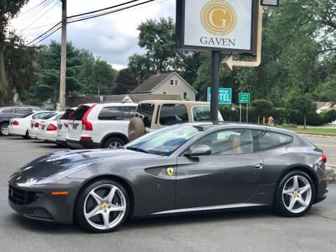 2012 Ferrari FF for sale at Gaven Auto Group in Kenvil NJ