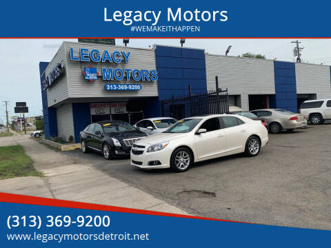 2013 Chevrolet Malibu for sale at Legacy Motors in Detroit MI