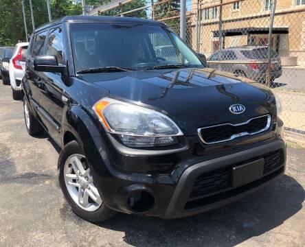 2012 Kia Soul for sale at Jeff Auto Sales INC in Chicago IL