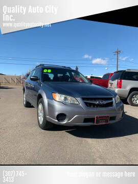 2008 Subaru Outback for sale at Quality Auto City Inc. in Laramie WY