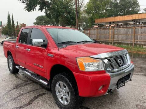 2012 Nissan Titan for sale at AWESOME CARS LLC in Austin TX