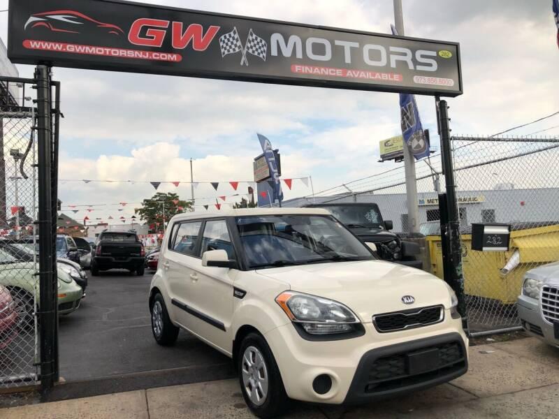 2013 Kia Soul for sale at GW MOTORS in Newark NJ