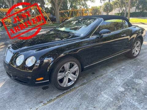 2007 Bentley Continental for sale at Florida Fine Cars - West Palm Beach in West Palm Beach FL