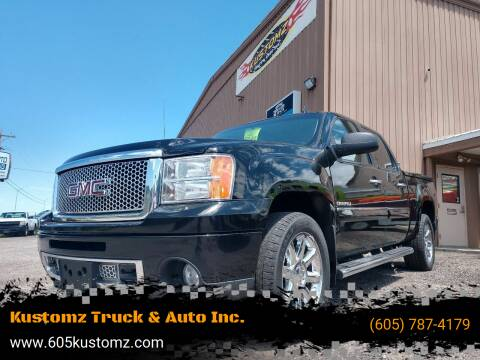 2011 GMC Sierra 1500 for sale at Kustomz Truck & Auto Inc. in Rapid City SD