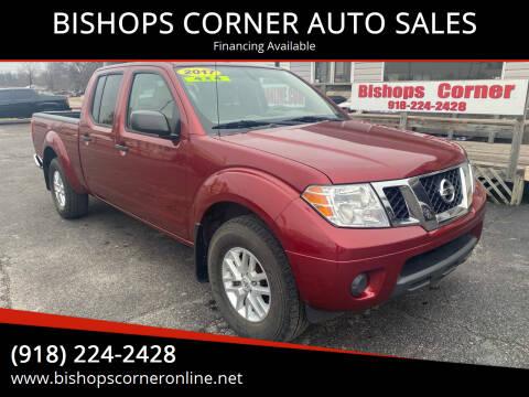 2017 Nissan Frontier for sale at BISHOPS CORNER AUTO SALES in Sapulpa OK