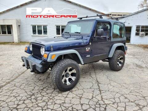 2006 Jeep Wrangler for sale at PA Motorcars in Conshohocken PA