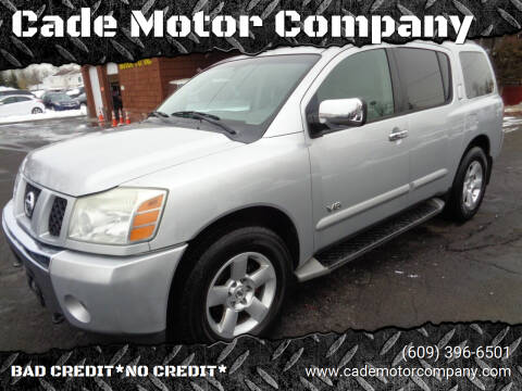 2005 Nissan Armada for sale at Cade Motor Company in Lawrenceville NJ