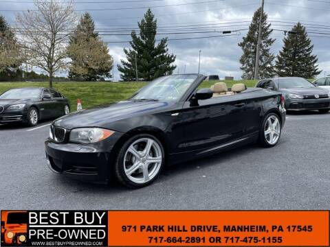 2010 BMW 1 Series for sale at Best Buy Pre-Owned in Manheim PA