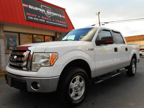 2011 Ford F-150 for sale at Super Sports & Imports in Jonesville NC