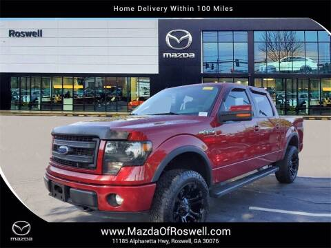 2014 Ford F-150 for sale at Mazda Of Roswell in Roswell GA