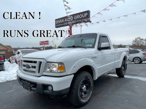 2006 Ford Ranger for sale at Divan Auto Group in Feasterville Trevose PA