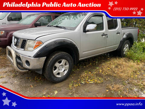 2008 Nissan Frontier for sale at Philadelphia Public Auto Auction in Philadelphia PA