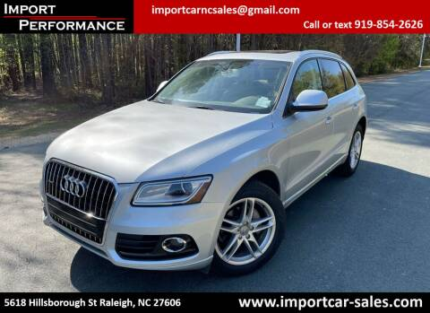 2013 Audi Q5 for sale at Import Performance Sales in Raleigh NC