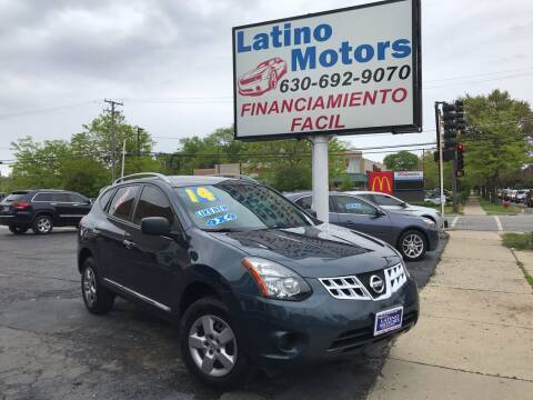 2014 Nissan Rogue Select for sale at Latino Motors in Aurora IL