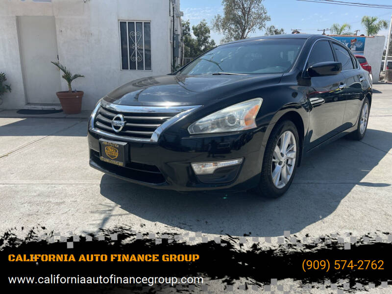 2014 Nissan Altima for sale at CALIFORNIA AUTO FINANCE GROUP in Fontana CA