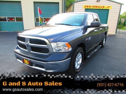 2018 RAM Ram Pickup 1500 for sale at G and S Auto Sales in Ardmore TN