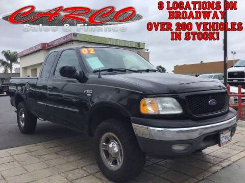 2002 Ford F-150 for sale at CARCO SALES & FINANCE #2 in Chula Vista CA