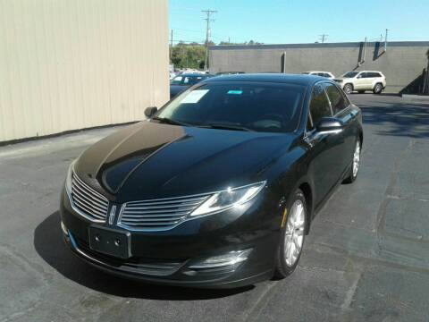 2016 Lincoln MKZ for sale at Car Guys in Lenoir NC