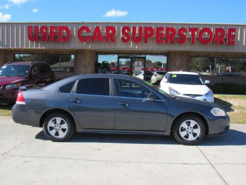 2010 Chevrolet Impala for sale at Checkered Flag Auto Sales NORTH in Lakeland FL