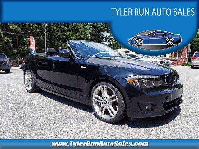 2013 BMW 1 Series for sale at Tyler Run Auto Sales in York PA