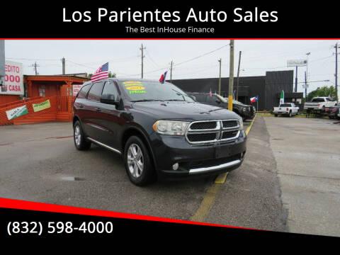 2013 Dodge Durango for sale at Los Parientes Auto Sales in Houston TX