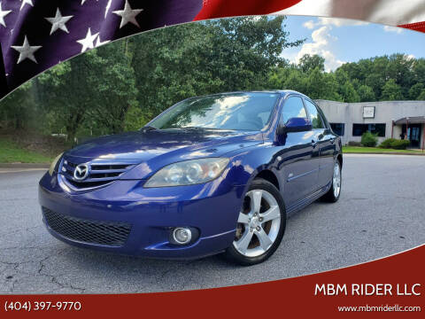 2004 Mazda MAZDA3 for sale at MBM Rider LLC in Alpharetta GA