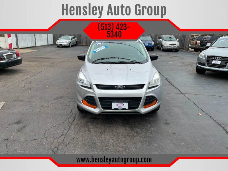 2014 Ford Escape for sale at Hensley Auto Group in Middletown OH