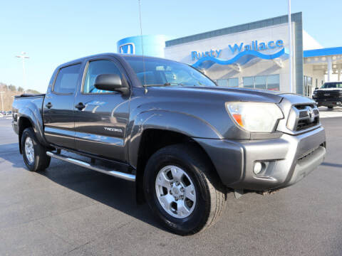 2013 Toyota Tacoma for sale at RUSTY WALLACE HONDA in Knoxville TN