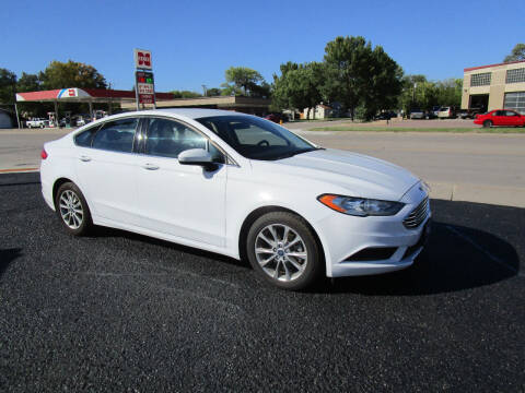 2017 Ford Fusion for sale at Padgett Auto Sales in Aberdeen SD